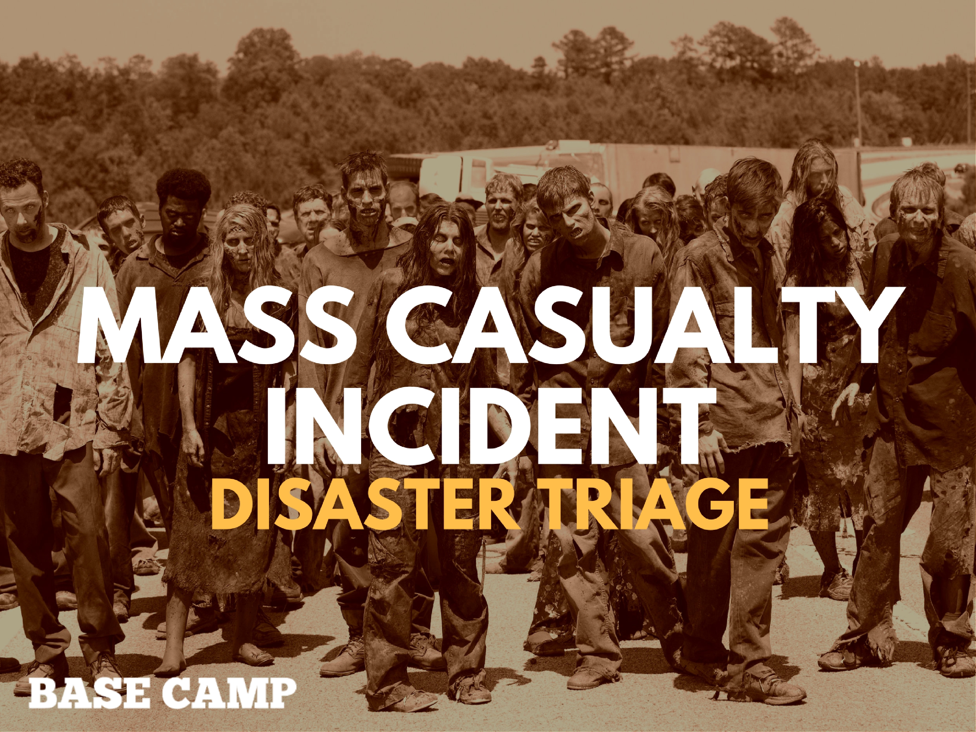 Mass Casualty Incident Disaster Triage