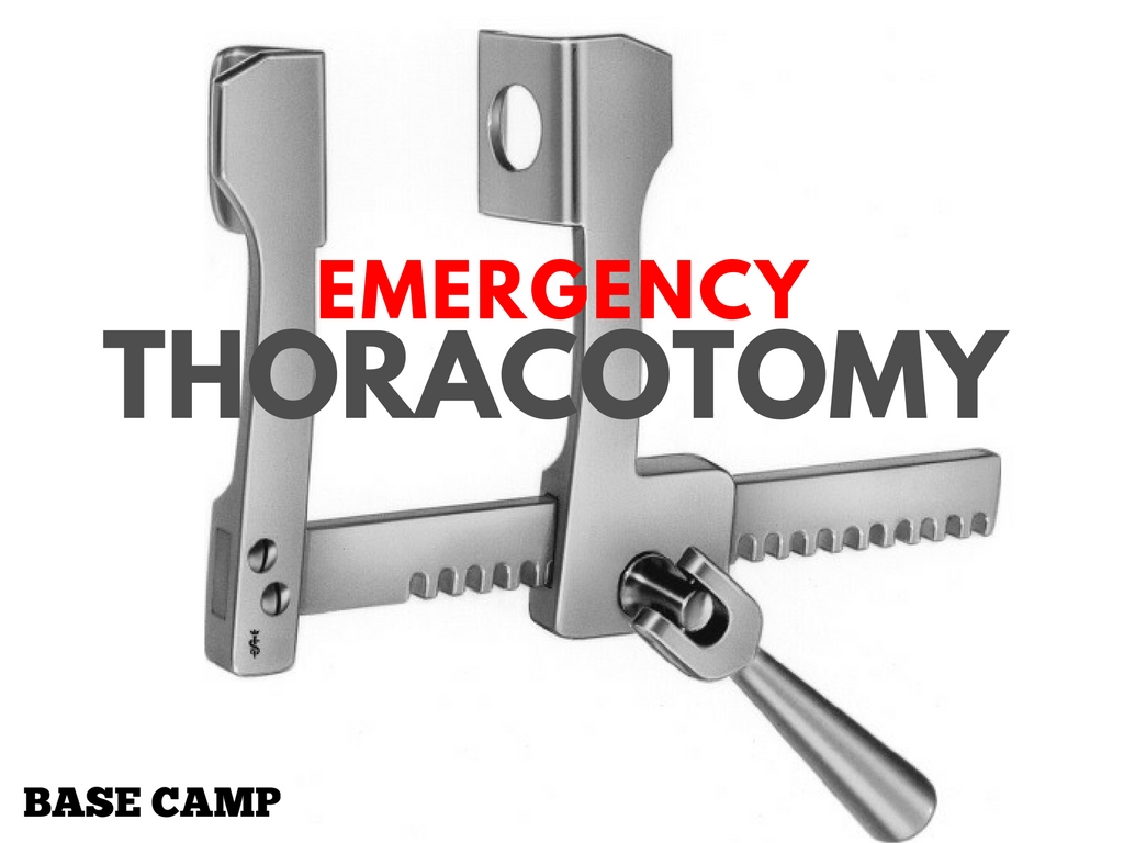 Emergency Thoracotomy